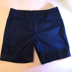 🔷Navy Blue Jones New York Shorts - Size 2P🔷